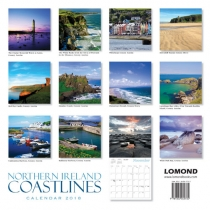 2018 Calendar Northern Ireland Coastlines (2 for £5) (Mar)
