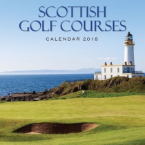 2018 Calendar Scottish Golf (2 for £5) (Mar)