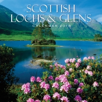 2018 Calendar Scottish Lochs & Glens (2 for £5) (Mar)
