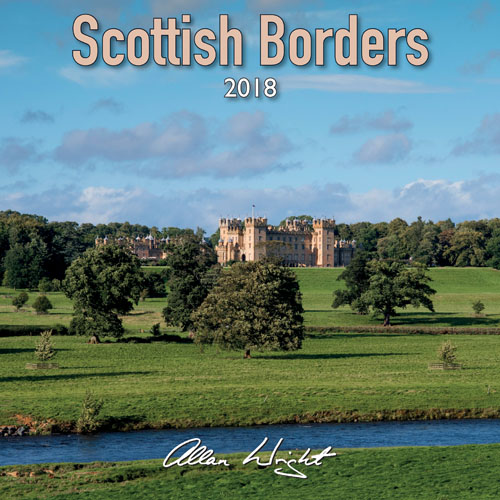 2018 Calendar Scottish Borders (Mar)