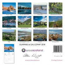 2018 Calendar Dumfries & Galloway (Mar)