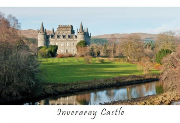 Inveraray Castle Postcard (HA6)
