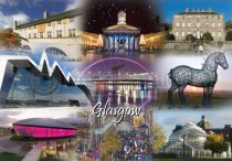 Glasgow Fusion Postcard (HA6)