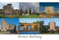 Historic Galloway Composite Postcard (HA6)