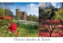 Threave Gardens Composite Postcard (HA6)