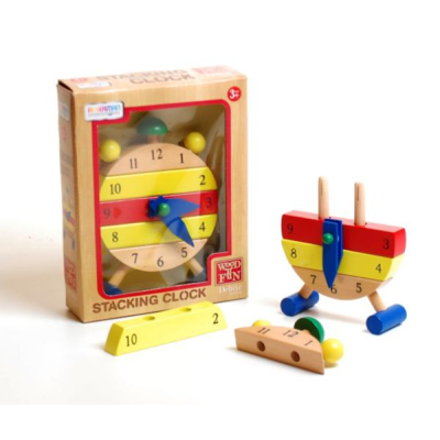 Wood Deluxe Stacking Clock
