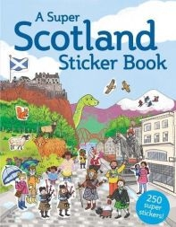Super Scotland Sticker Book