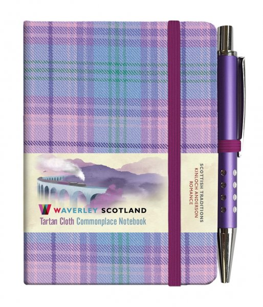 Tartan Cloth Notebook Mini: Romance (Jun)