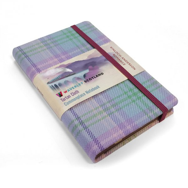 Tartan Cloth Notebook Pocket: Romance (Jun)