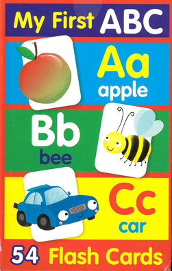 Flashcards My First ABC (May)
