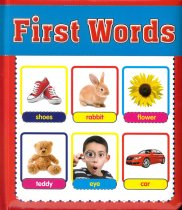 First Words Photo Board Book (May)