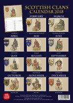 2018 Calendar Scottish Clans (May)