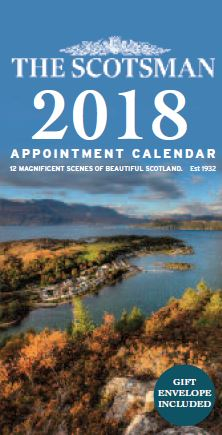 2018 Calendar Scotsman Appointment (Jul)