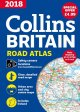 2018 Collins Britain Road Atlas Spiral Bound