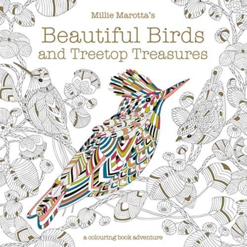 Millie Marotta's Beautiful Birds & Treetop Treasures