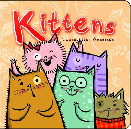 Kittens Board Book (Sep)