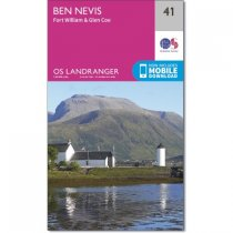 Landranger Active 41 Ben Nevis, Fort William