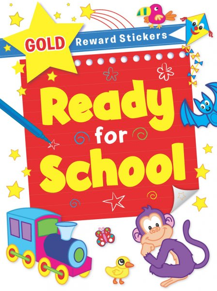 Ready for School Sticker Book (2 Asst) (Feb)
