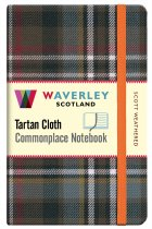 Tartan Cloth Notebook Pocket: Scott Weathered