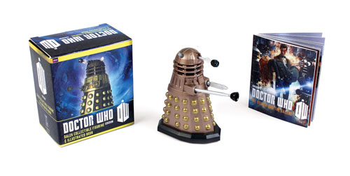 Doctor Who Dalek Figurine & Book Kit