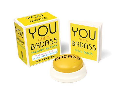 You Are a Badass Talking Button Kit