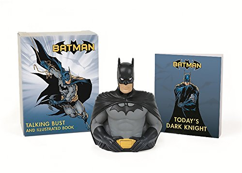 Batman Talking Bust & Book Kit