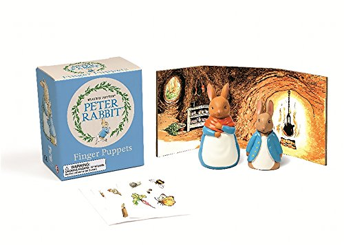 Peter Rabbit Finger Puppets Kit