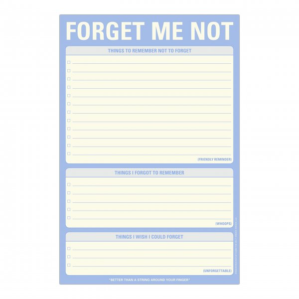 Classic Pad: Forget Me Not