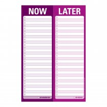 Perforated Pad: Now/Later