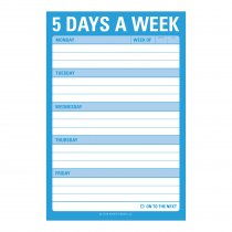 Great Big Stickies: 5 Days a Week
