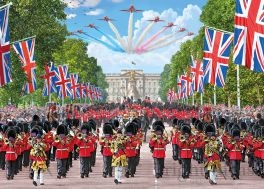 Jigsaw Trooping the Colour 1000pc
