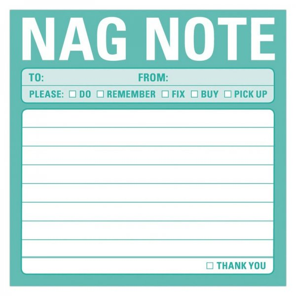 Sticky Notes: Nag Note