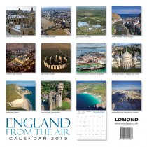 2019 Calendar England from the Air (2 for £6) (Mar)