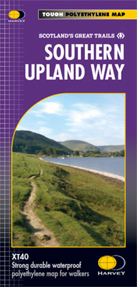 XT40 National Trail Map Southern Upland Way (Jun)