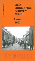 Old OS Map Larne 1901