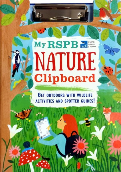 My RSPB Nature Activity Clipboard (Apr)