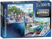 Jigsaw Railway Heritage No 1&2 2 x 500pc (May)