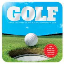 Golf Book, Ball & Tees Gift Tin (Sep)