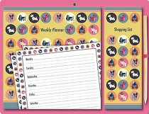 Magnetic Weekly Planner Dot the Dog (Sep)
