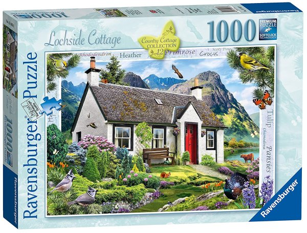 Jigsaw Lochside Cottage 1000pc