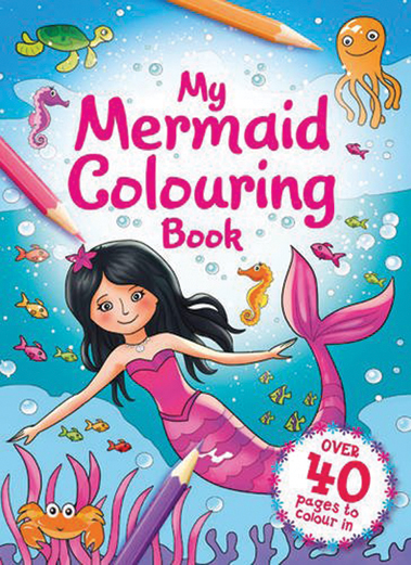 My Mermaid Colouring Book
