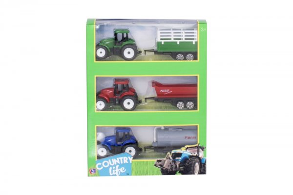 Country Life Farm Playset Tractor & Trailer