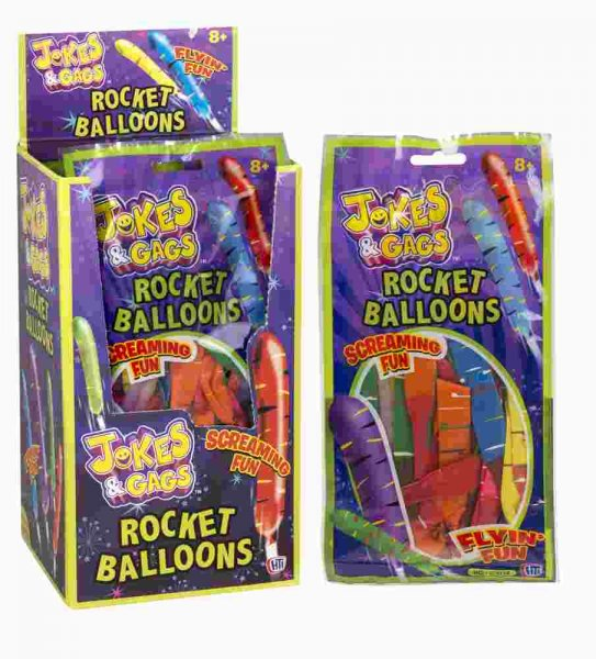 Jokes & Gags Rocket Balloon (CPU24)