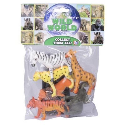 Wild World Jungle Animals Large 2 Asst