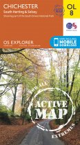 Explorer Active OL 08 Chichester, Sth Harting, Selsey