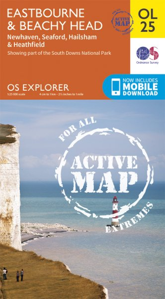 Explorer Active OL 25 Eastbourne & Beachy Head