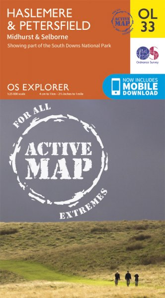 Explorer Active OL 33 Haslemere & Petersfield