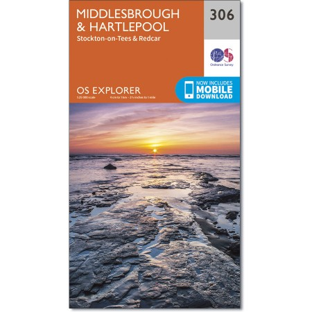 Explorer 306 Middlesbrough & Hartlepool, Stockton