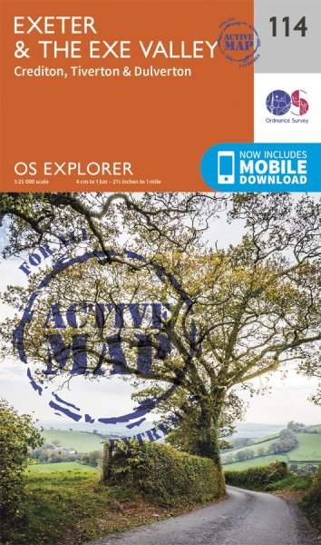 Explorer Active 114 Exeter & the Exe Valley