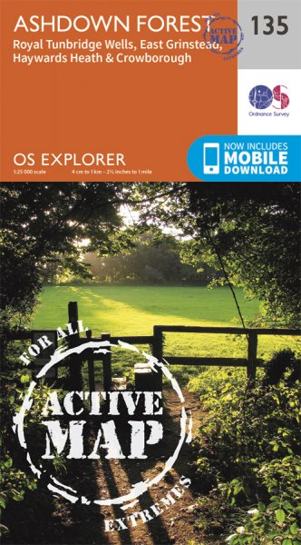 Explorer Active 135 Ashdown Forest